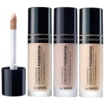 Увлажняющий жидкий консилер The Saem Cover Perfection Concealer Foundation SPF50+ PA+++