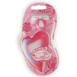 Бритва женская безопасная в комплекте с 2 кассетами Feather Mermaid