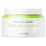 Успокаивающий гель-крем с алоэ вера Eunyul Natural Power Aloe Cream