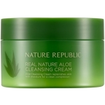 Очищающий крем с алоэ вера Nature Republic Real Nature Aloe Cleansing Cream