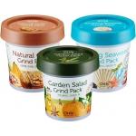 Маска с белой глиной и витаминным комплексом Ottie Garden Salad Green Pack