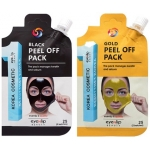 Очищающая маска-плёнка Eyenlip Pocket Pouch Line Black Peel Off Pack