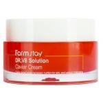 Крем с экстрактом икры FarmStay Dr V8 Solution Caviar Cream