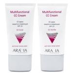 СС-крем солнцезащитный Aravia Professional Multifunctional CC Cream SPF 20