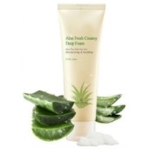 Мусс очищающий The Skin House Aloe Fresh Creamy Deep Foam