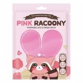 Гидрогелевые патчи для глаз и щек Secret Key Pink Racoony Hydrogel Eye And Cheek Patch Sachet