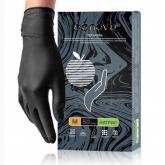 Перчатки Benovy нитриловые смотровые нестерильные текстурированные на пальцах перчатки