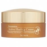 Питательный кислородный крем Deoproce Fermentation Active Healing Cream