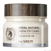 Крем с конским жиром The Saem Royal Natural Horse Oil Cream