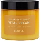 Витаминизирующий крем-гель для лица с ниацинамидом и экстрактами цитрусовых Eunyul Yellow Seed Therapy Vital Cream