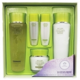 Набор для ухода за лицом 3W Clinic Aloe Full Water Activating Skin 3 Kit Set