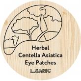 Гидрогелевые патчи с экстрактом центеллы L'Sanic Herbal Centella Asiatica Hydrogel Eye Patches