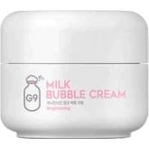 Пузырьковый крем для лица G9Skin Milk Bubble Cream