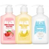 Гель-крем для душа с молоком G9Skin Creamy Body Wash