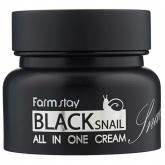 Многофункциональный крем на основе улиточного секрета Farmstay Black Snail All in One Cream