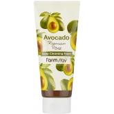 Пенка для умывания с экстрактом авокадо FarmStay Avocado Premium Pore Deep Cleansing Foam