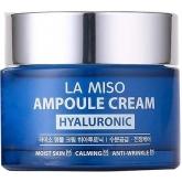 Крем-сыворотка с гиалуроновой кислотой La Miso Ampoule Cream Hyaluronic