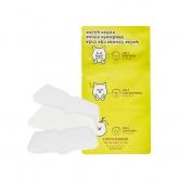 Набор патчей для очищения пор Etude House 3-Step Clear Nose Kit