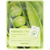 Тканевая маска для лица плацентарная Tony Moly Pureness 100 Placenta Mask Sheet