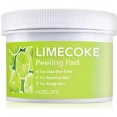 Пилинг-пэды с экстрактом лайма и газированной водой Koelcia Lime Coke Peeling Pad