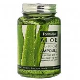 Многофункциональная сыворотка с алоэ вера FarmStay Aloe All-In One Ampoule