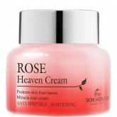 Крем для лица с экстрактом розы The Skin House Rose Heaven Cream