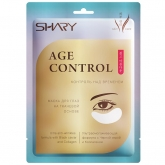 Маска для глаз на тканевой основе с черной икрой Shary Perfect Solution Age Control Mask Sheet