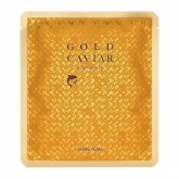 Тканевая маска для лица из золотой фольги holika holika prime youth gold caviar foil mask