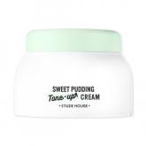 Осветляющий крем-пудинг для жирной кожи Etude House Sweet Pudding Tone Up Cream Brightening