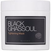 Очищающая маска для лица Missha Black Ghassoul Tightening Mask