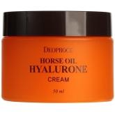 Крем с лошадиным жиром Deoproce Horse Oil Hyalurone Cream