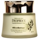 Увлажняющий крем с маслом оливы Deoproce Premium Olivetherapy Essential Moisture Cream