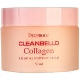 Крем для лица с коллагеном Deoproce Cleanbello Collagen Essential Moisture Cream