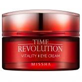 Антиэйдж-крем для кожи под глазами Missha Time Revolution Vitality Eyecream