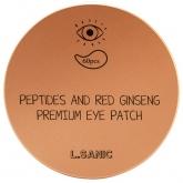 Гидрогелевые патчи для глаз с пептидами и экстрактом женьшеня L'Sanic Peptides and Red Ginseng Premium Eye Patch