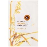 Маска для лица с овсянкой The Saem Natural Oatmeal Mask Sheet