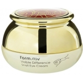 Крем для глаз с улиткой FarmStay Visible Difference Snail Eye Cream