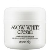 Осветляющий питательный крем Secret Key Snow White Cream