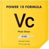 Осветляющая маска для лица с витамином С It's Skin Power 10 Formula Vc Mask Sheet