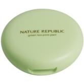 Компактная пудра Nature Republic Botanical Green Tea Pore Powder