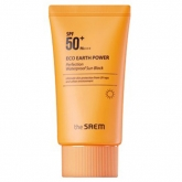 Водостойкий санскрин The Saem Eco Earth Power Perfection Waterproof Sun Block SPF50+ PA
