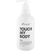 Гель для душа с козьим молоком и лактобактериями Esthetic House Touch My Body Goat Milk Body Wash