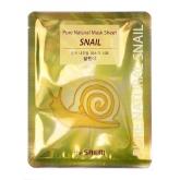 Тканевая маска с муцином улитки The Saem Pure Natural  Mask Sheet Snail