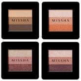 Трехцветные тени Missha Triple Shadow
