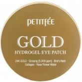 Гидрогелевые патчи для глаз Petitfee Gold Hydrogel Eye Patch