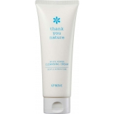 Очищающий крем для лица Vprove Thank You Nature White Power Cleansing Cream Gentle And Moisture