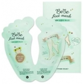 Маска-пилинг для ног Etude House Bebe Foot Mask