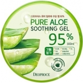 Гель алое Deoproce Pure Aloe SoothingGel 95%