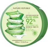 Мультифункциональное средство Nature Republic Soothing and Moisture Aloe Vera 92% Soothing Gel