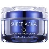 Питательный увлажняющий крем Missha Super Aqua Nutritious Ultra Cream